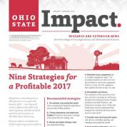 Cover of the January/February Ohio State Impact Newsletter